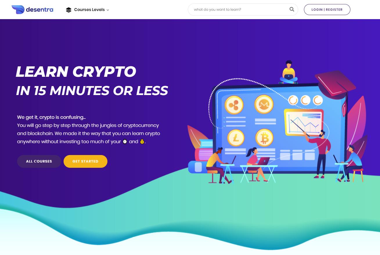 Desentra home page